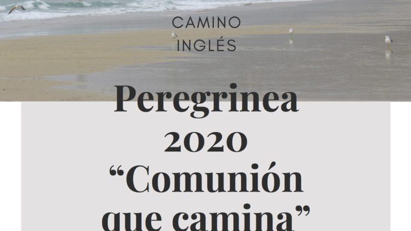 """Peregrinea 2020. """"Comunión que camina"""""""