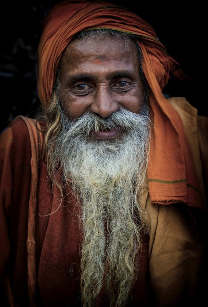 Sadhu a orillas del Gangâ