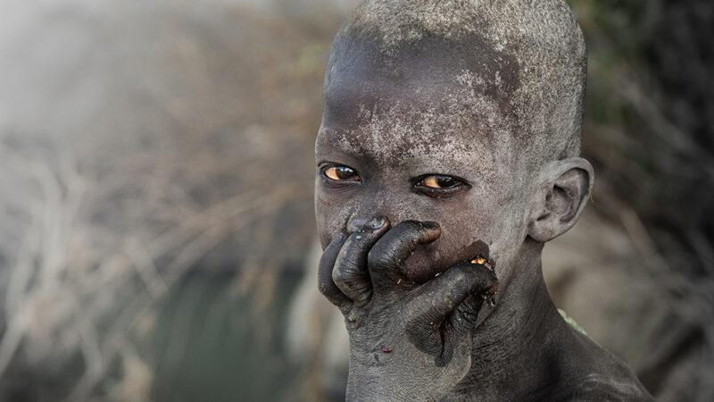 Pastores nómadas del Nilo Blanco
