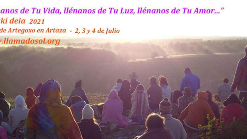 Llamado sol 2021 en Artaza (Navarra)